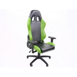 FK kancelářská židle křeslo / herní sedadlo Liverpool černo-zelené