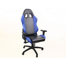 FK kancelářská židle křeslo / herní sedadlo Liverpool černo-modré
