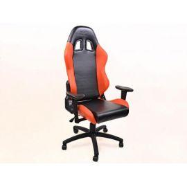 FK kancelářská židle křeslo / herní sedadlo Liverpool černo-oranžové