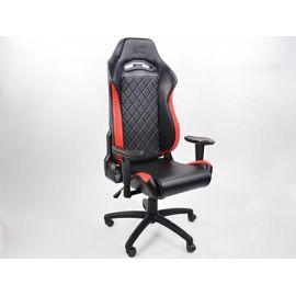 FK kancelářská židle křeslo / herní sedadlo London černo-červené