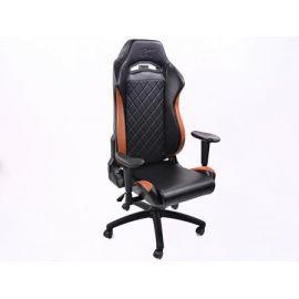 FK kancelářská židle křeslo / herní sedadlo London černo-hnědá