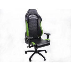 FK kancelářská židle křeslo / herní sedadlo London černo-zelené