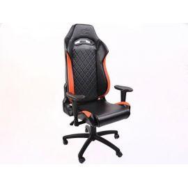 FK kancelářská židle křeslo / herní sedadlo London černo-oranžové