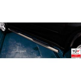 Side steps / Running boards with TÜV NISSAN X-TRAIL 2010 - 2012 -