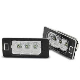 OSVĚTLENÍ SPZ LED BMW E90 E91 E92 E93 E39 E60 E61 E70 E71 E82 E88 LED CREE CLEAR